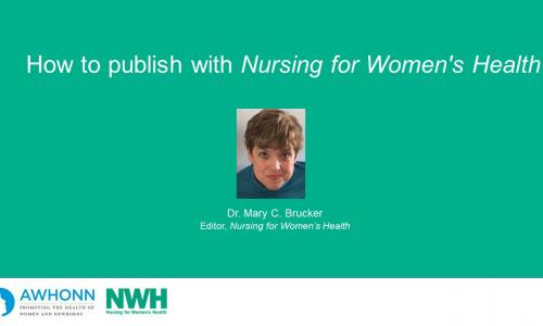 How to publish with Nursing