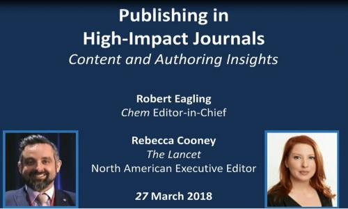 How To Publish in High Impact Journals